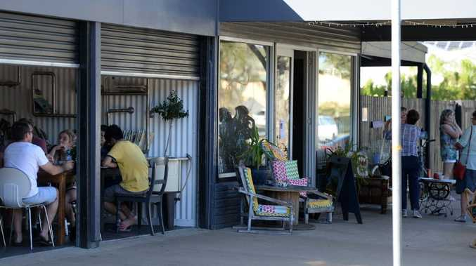 OODIES CAFE: Nice pictures of Bundaberg. Photo: Mike Knott / NewsMail