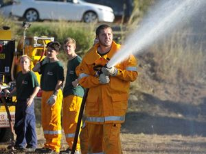 Students learn to battle blazes if they hit close to home