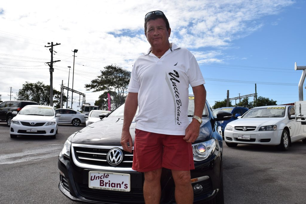 READY TO GO: After 22 years selling cars in Gladstone,