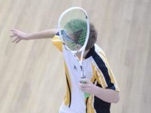 Two of Gladstone's best squash players in Brisbane trials