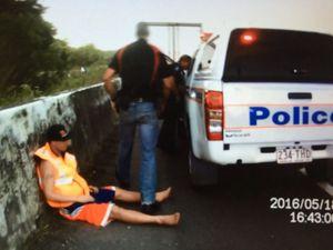 Highway truck arrest