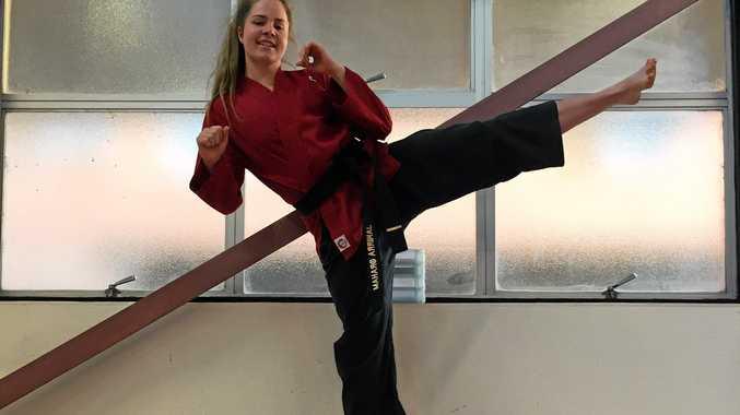 WIN: Lismore's Jakirra Graham wins International Karate Competition in Japan.