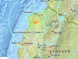 6.7 and 6.8 magnitude earthquakes hit Ecuador