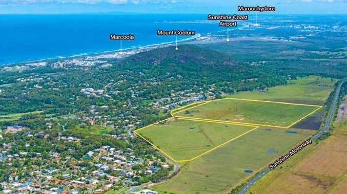 The 43.37ha property on South Coolum Rd has sold.