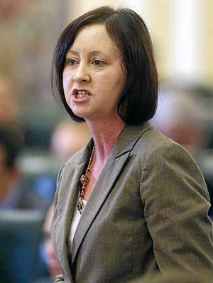 SHAME: Attorney-General Yvette D'Ath.