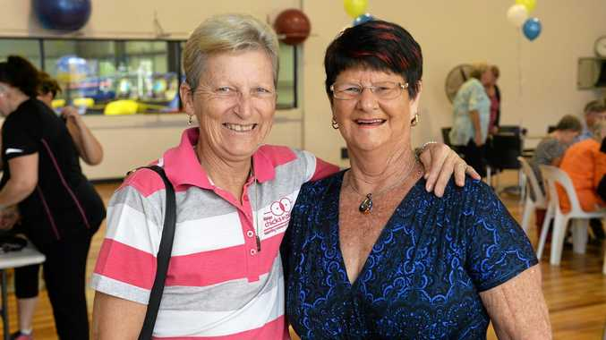 Toni Birtles-Crute and Val Cleaver.