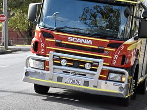 Fuel leak on Southern Downs highway