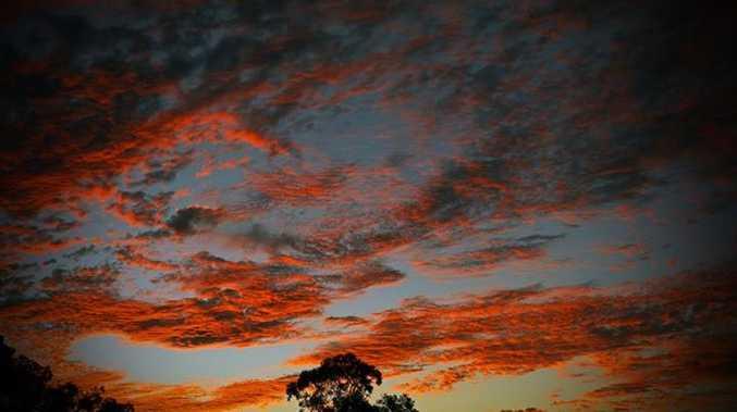 Sunset over Nimbin Valley