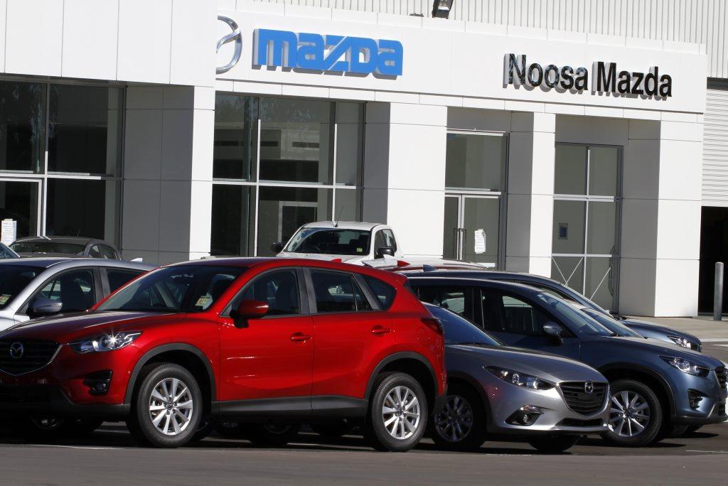 The new Noosa Mazda showroom, Noosaville. Photo: Iain Curry / Sunshine Coast Daily