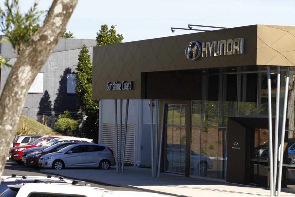 The new Noosa Hyundai showroom, Noosaville. Photo: Iain Curry / Sunshine Coast Daily