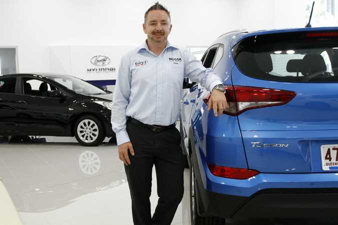 General Manager of Noosa Auto Group Chris Symes at the new Noosa Hyundai showroom, Noosaville. Photo: Iain Curry / Sunshine Coast Daily