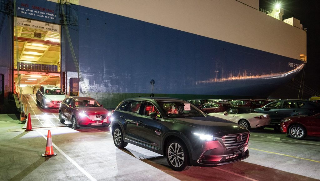 2016 Mazda CX-9 seven-seat SUV arrives in Australia. Photo: Contributed