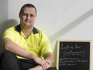 Man desperate for job takes 'hire me' sign to streets