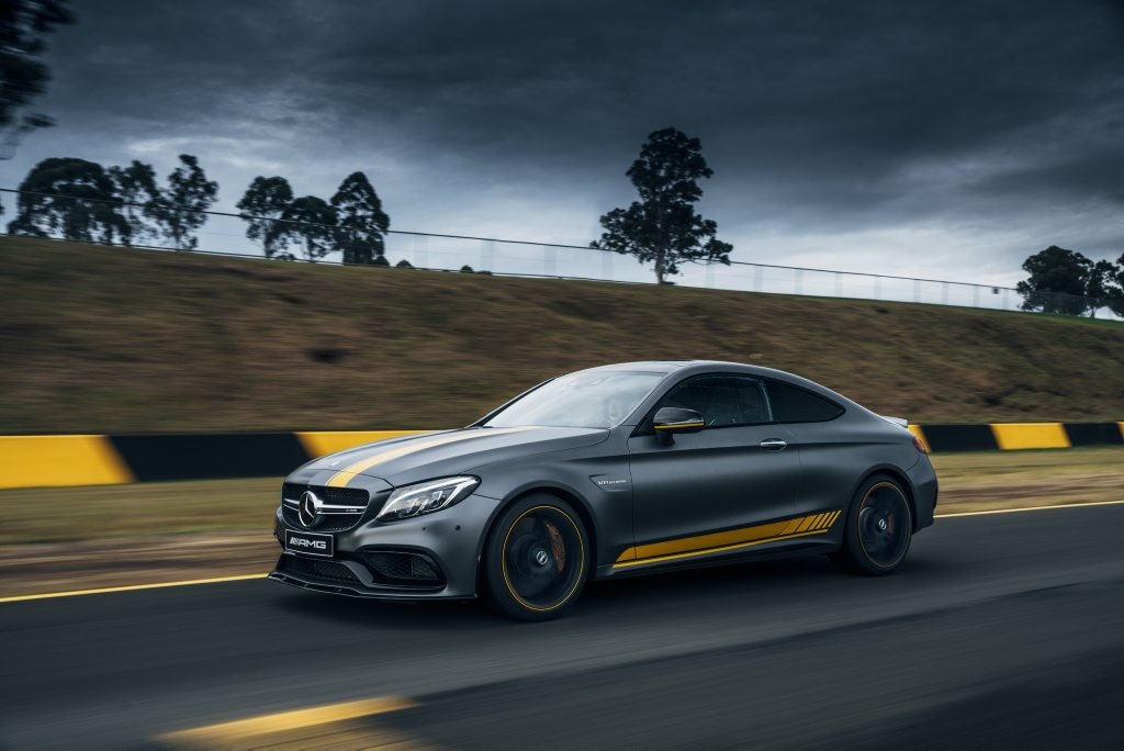 2016 Mercedes-AMG C 63 S Coupe Edition 1. Photo: Chris Benny.