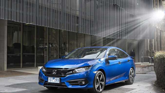 2016 Honda Civic RS. Photo: Contributed.