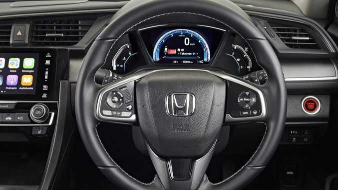 2016 Honda Civic VTi-LX. Photo: Contributed.