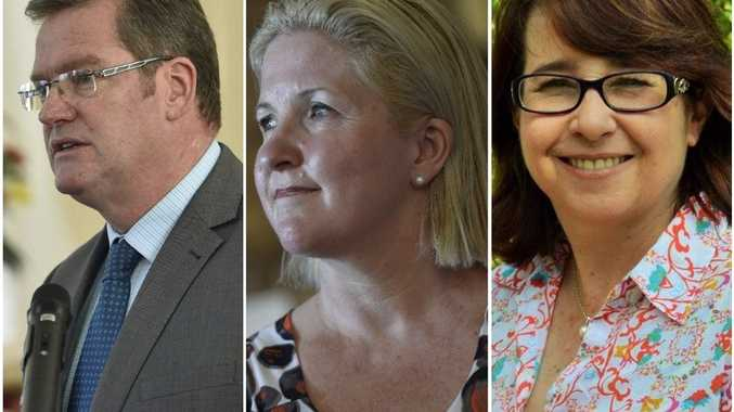 Candidates for Groom including John McVeigh, Josie Townsend and Bronwyn Herbertson. Photo Andrew Backhouse / The Chronicle