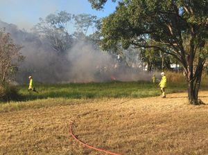 Fire near Maryborough school