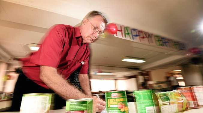 Lismore Uniting Church Food Pantry coordinator Barry Perry and other members and supporters celebrated the project's fourth birthday this week.