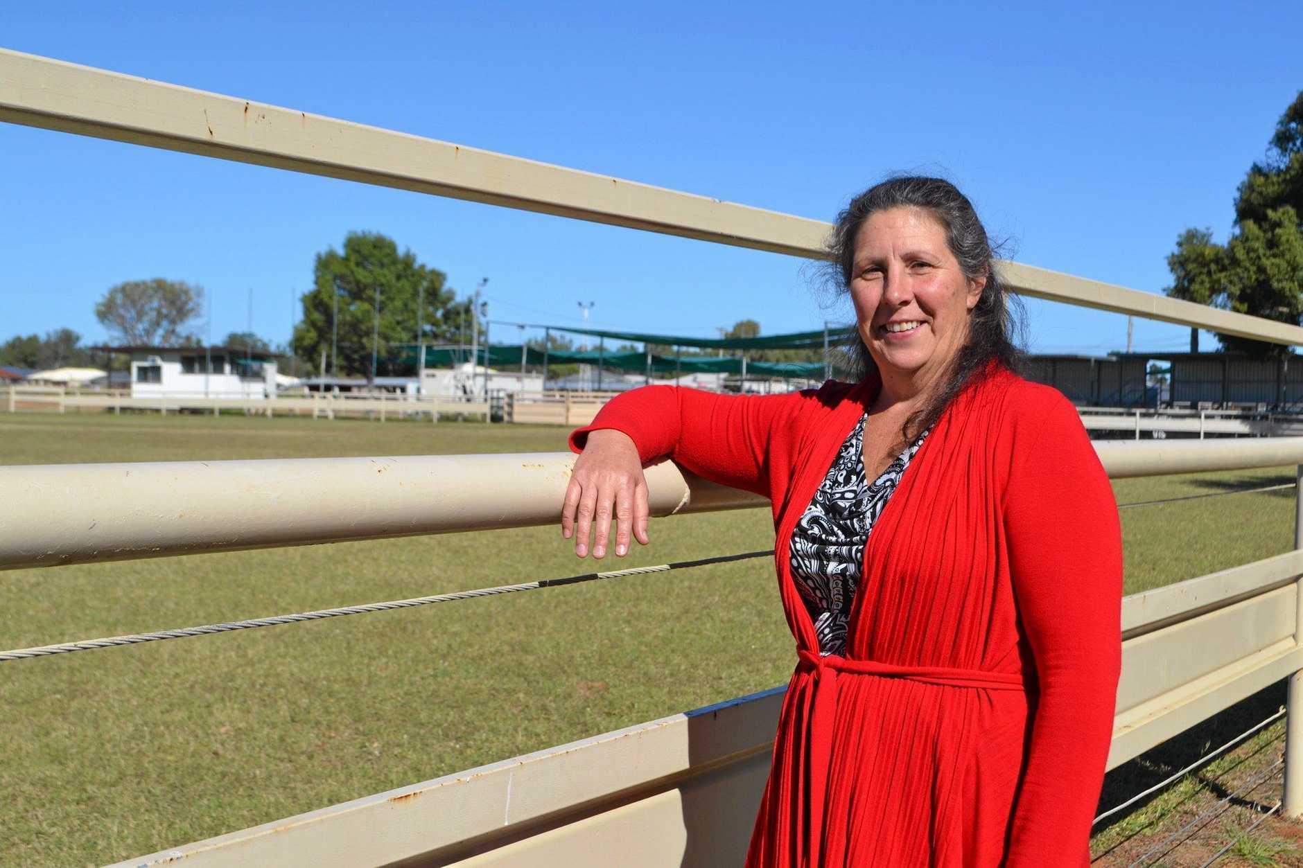 MOVING WITH THE TIMES: Chinchilla Show Society's new secretary Rhonda Bruggemann.