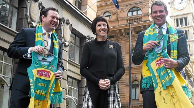 """FROM THE TOP: Netball Australia CEO Kate Palmer said the Melbourne Storm and University of the Sunshine Coast's bid was committed to creating a """"high performance"""" environment."""