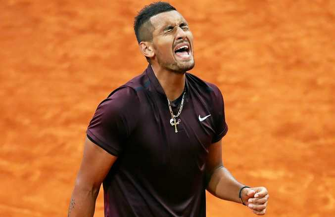 Nick Kyrgios remains the centre of controversy.  Photo: Clive Brunskill/Getty Images.