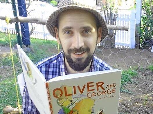 Award winning children's author Peter Carnavas will be in Gympie.