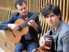 CLASSIC MUSIC: The Grigoryan Brothers, Slava and Leonard, will perform at Gatakers Artspace on Sunday.