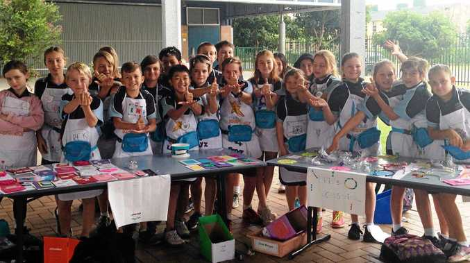 School kids get busy on their business ideas in Ballina