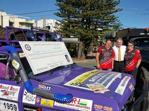 Big donation for Coast charity rally drivers