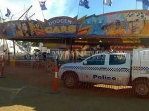 Chinchilla Show worker 'not electrocuted' by dodgem cars