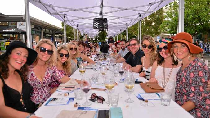 SOLD-OUT: Noosa Street Feast Long Lunch, part of Noosa Food and Wine festival, was a hit yesterday.