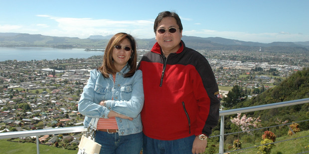 Blessie and Antonio Gotingco were married for 30 years. Photo / Supplied