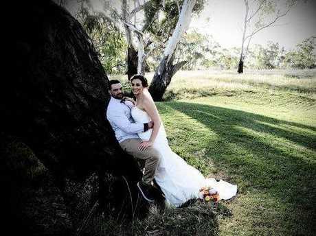 Jayde and Karlie Laine were newlyweds.
