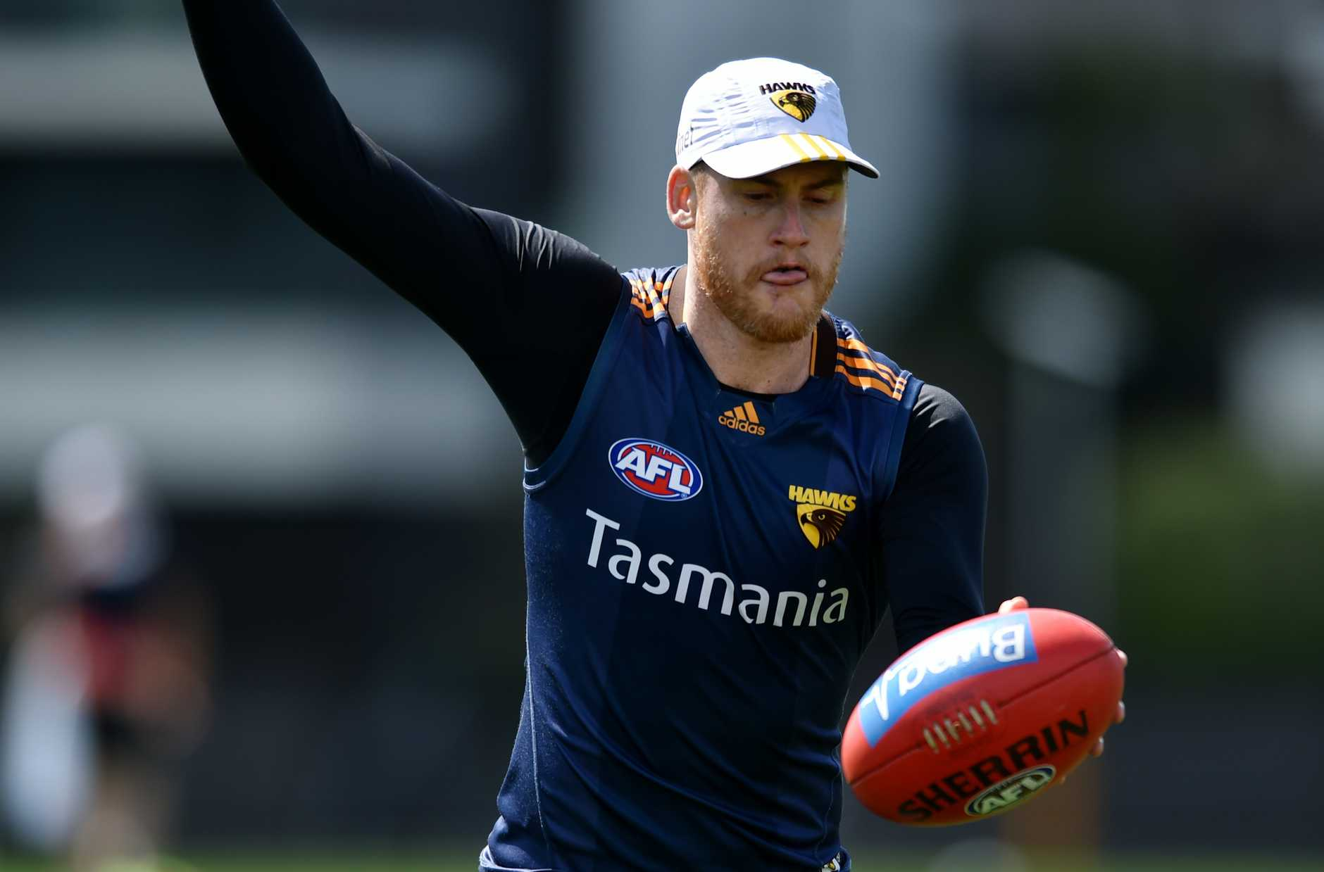 Jarryd Roughead has a bigger battle on his hands than trying to help Hawthorn win a fourth premiership in a row.