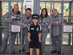 Locals locked up for cause