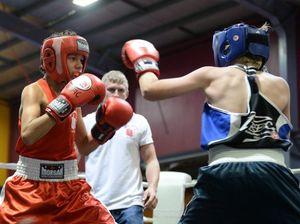 GALLERY:  Goltz wins senior fight of night at Rocky PCYC