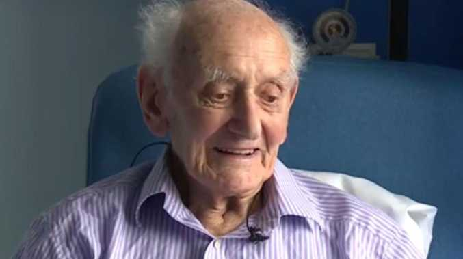 99-year-old Victor Marston is thought to be the oldest person to beat cancer.