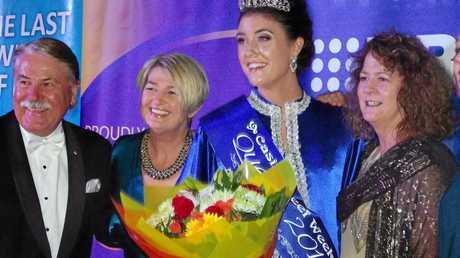 2016 Beef Week Queen Georgia King is crowned at the Casino RSM Club.