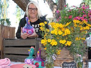 Creations hatched in Warwick gallery director's garden
