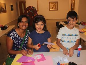 Children celebrate museum day on weekend