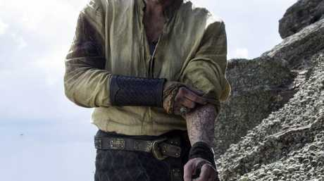 Iain Glen in a scene from season six episode five of Game of Thrones.