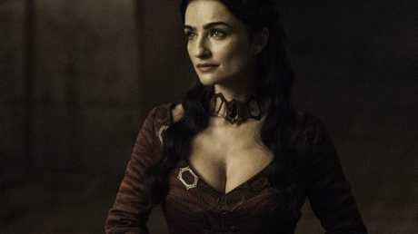 Ania Bukstein as Kinva in a scene from season six episode five of Game of Thrones.