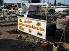 Yesterday's Lockyer Antique Motor Association (LAMA) 'Lockyer Swap' drew big crowds.