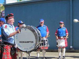 Pipes and Drums Band bids members bye-bye