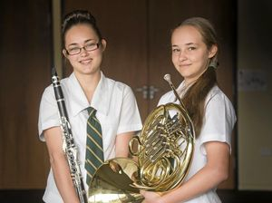 Toowoomba sisters hit high US note