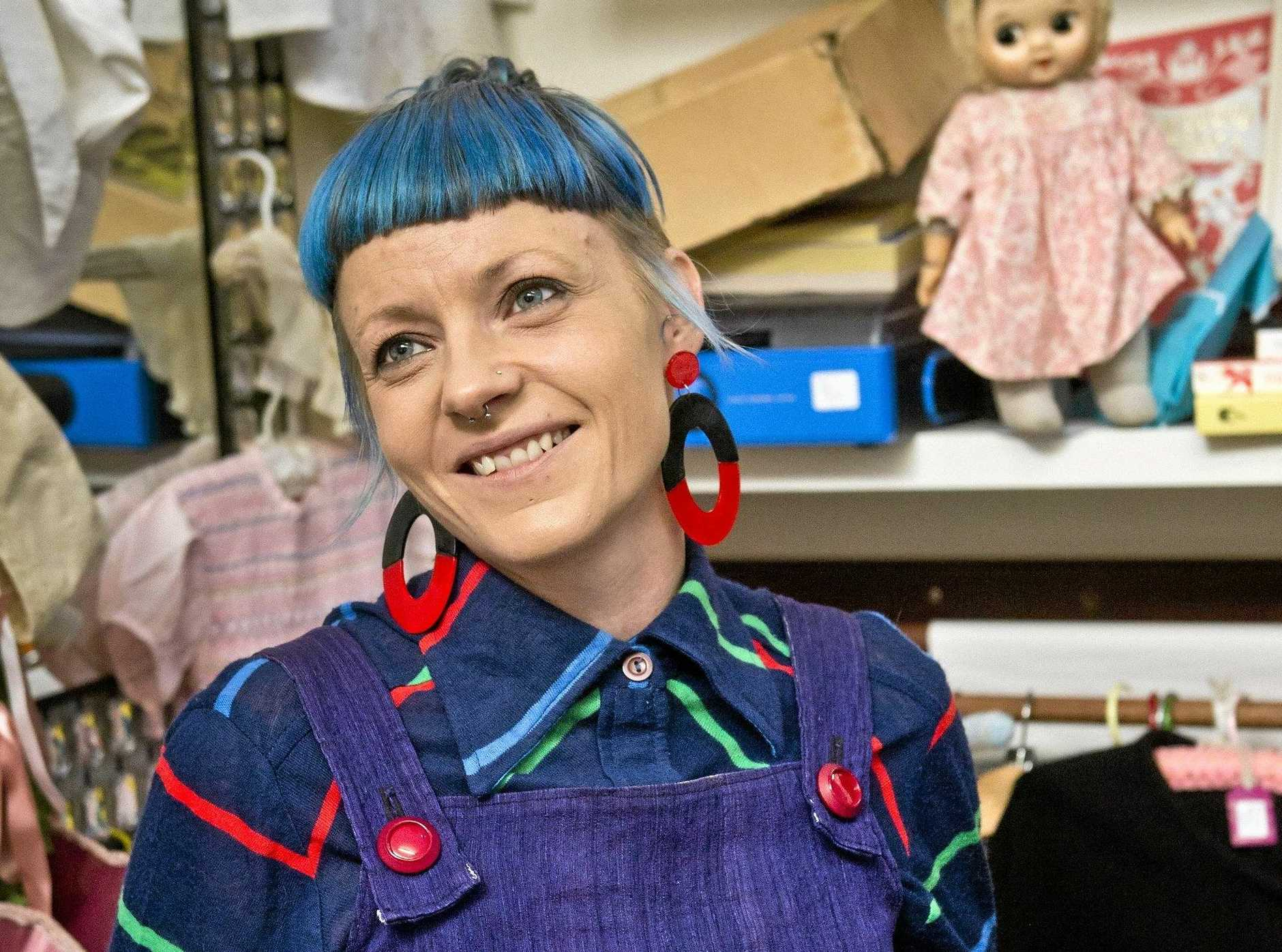 HUMAN TOUCH: Alice in Arcade Land stylist Jade Courtney has launched Humans in Toowoomba on Facebook.