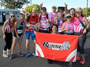 Social group races in from Springfield for Pentath-run