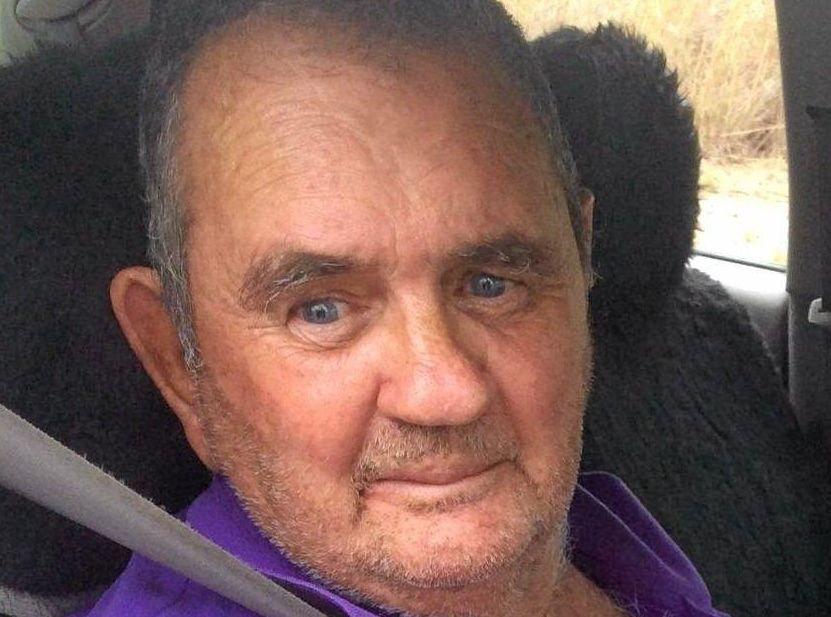 Alan Ellsworth was last seen on Thursday, May 12 at a Warton St, Gayndah home. Photo Contributed / Fraser Coast Chronicle