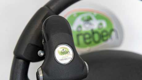Reben Mobility can modify a car to suit a range of needs, including adding steering wheel mounted controls, Monday, May 16, 2016.